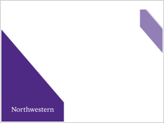 presentation tools: brand tools - northwestern university, Presentation templates
