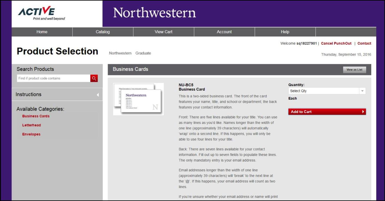 Business cards and letterhead brand tools northwestern university catalogpage colourmoves Choice Image