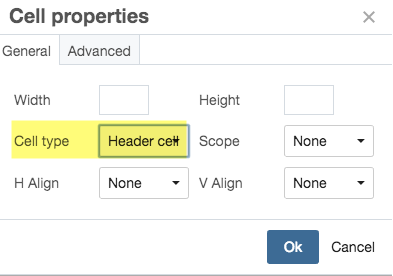 Tables cascade help northwestern university - Html table cell properties ...