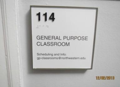 Fisk 114 Facilities Northwestern University