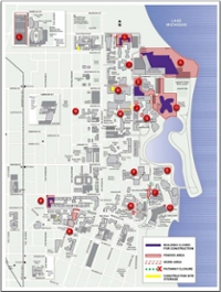 Northwestern University Evanston Campus Map.Maps Facilities Northwestern University