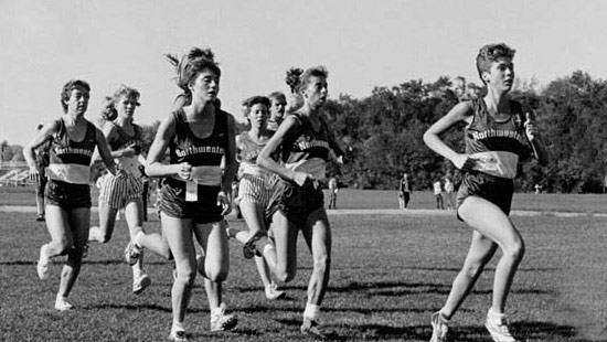 1980 - By the 1980s, Northwestern offered nine varsity sports for women, including cross country, which soared for several years in the mid '80s.