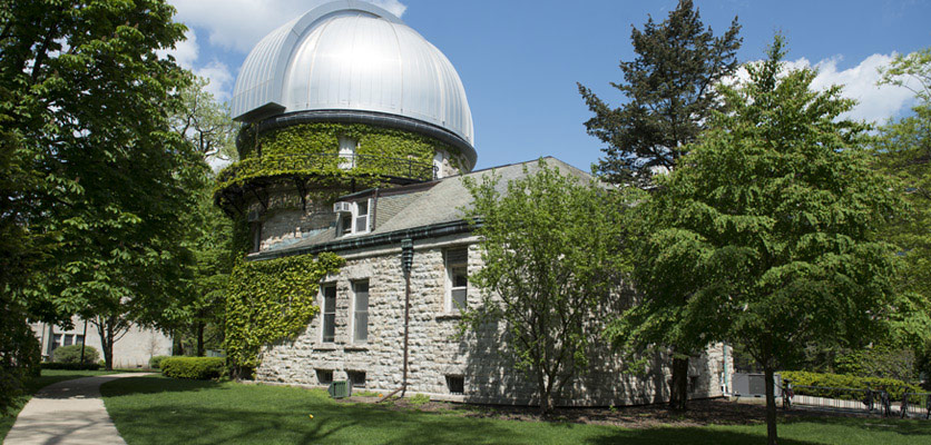 Picture of the observatory