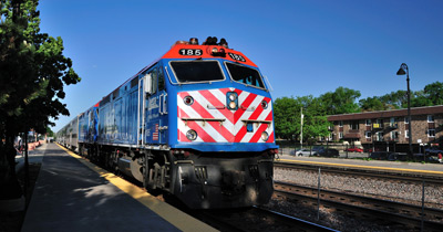 Picture of the Metra