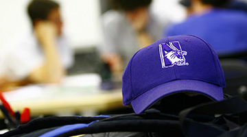 Picture of a Northwestern Hat