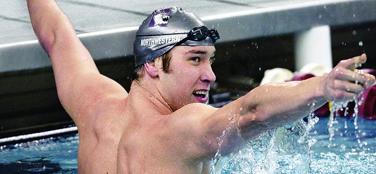 Matt Grevers Swimming