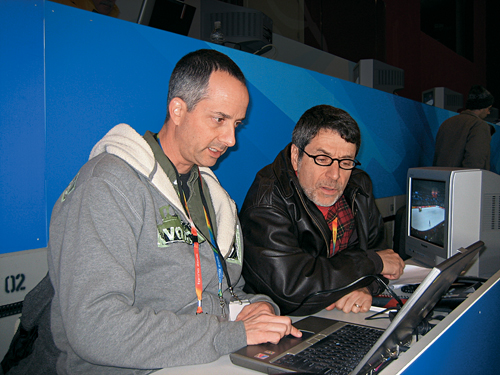 Brent Musburger And Kirk Herbstreit