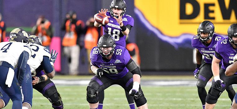 Football Walk Ons Are Backbone Of Program Northwestern Magazine Northwestern University