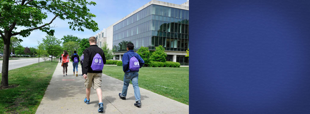 Evanston Township High School students spend a day at Northwestern to taste college life.