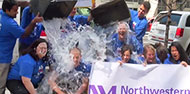 Northwestern Medicine Takes 'ALS Ice Bucket Challenge'