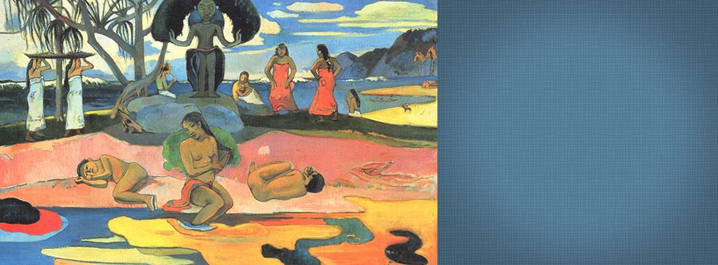 Paul Gauguin painting