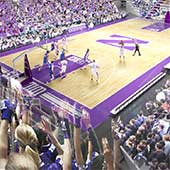 Renovated Welsh-Ryan Arena