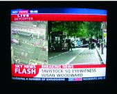 Tavistock Square bombing news flash