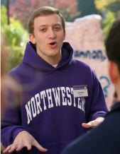 Jeffrey Smith as Northwestern tour guide