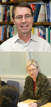 Professors Greg Duncan and Lindsay Chase-Lansdale