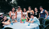 The NU Club of North Carolina Triangle was one of many alumni clubs that held welcome parties for new and returning Northwestern students in their communities.