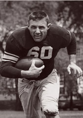 Gaspar Perricone in his Wildcat football days