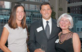 Liz and Bob Hayward (C94, L97) and Sally Madden Hayward (SESP61) at the September Leadership Circle event.