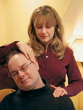 Ann Weber left her career in journalism to become a massage therapist.