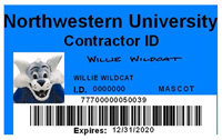 Contractor ID Card