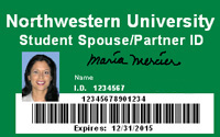 ID card for spouses and partners of graduate students