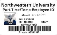 Part Time Temp ID